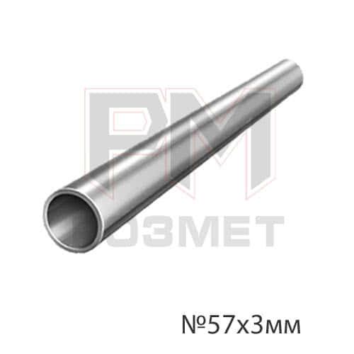 Труба оцинкованная диам. 57х3мм (1 м.п.), фото